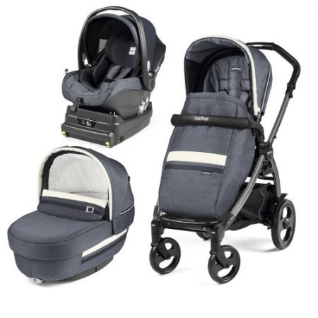 Carucior 3 in 1 Peg Perego Book Plus 51 Titania i-Size Luxe Mirage
