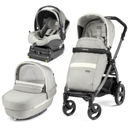 Carucior 3 in 1 Peg Perego Book Plus 51 Titania i-Size Luxe Pure