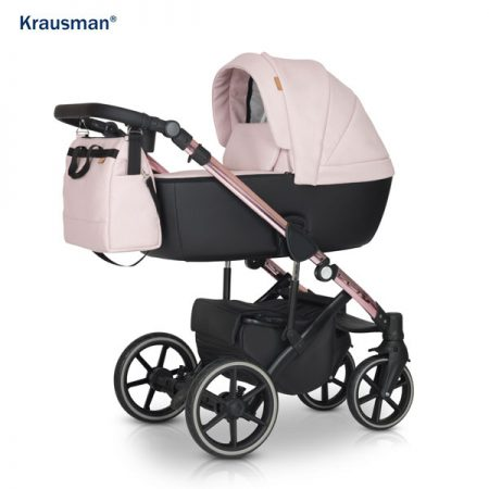 Carucior 3 in 1 Storm Pink Shiny