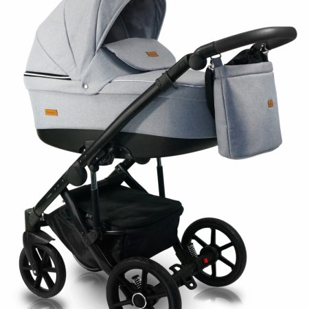 Carucior copii 3 in 1 Bexa ultra 2.0 Light Grey