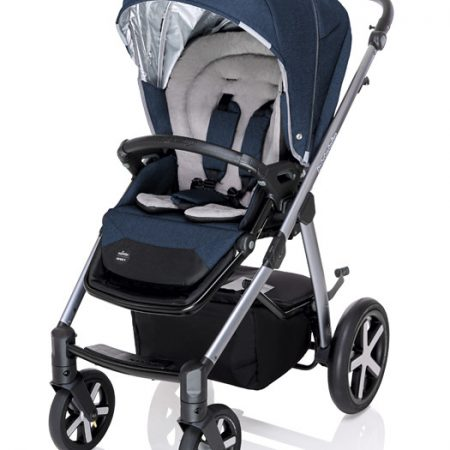 Carucior multifunctional Baby Design Husky + Winter Pack 03 Navy 2020