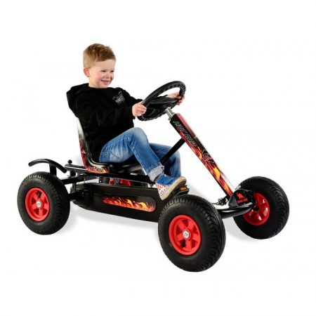 Kart cu pedale Dino Cars Junior HOT ROD BF1